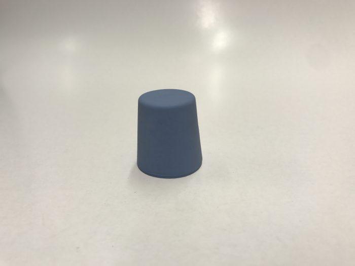 conische stop blauw